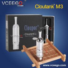 Hotest selling unique design e pipe cloutank M3 detachable system cloupor smoking dry herb