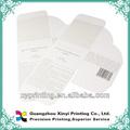 impressão offset caixa de presente de impressão de templates