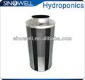 hidropónicos de carbono filtro de aire