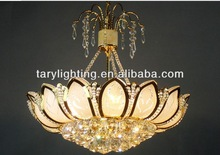 new style gold dining room modern crystal chandelier
