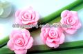 japonés hecho a mano de arcilla del polímero flores