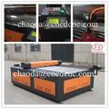 Cnc gravura do laser/máquina de corte de madeira, couro e tecido de algodão co2 gravura do laser de corte