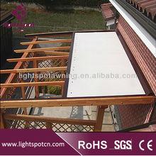 Aluminum retractable pergola awning folding cheap waterproof pergola awning outdoor large pergola