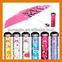 Cute Japanese Dolls Bottle Umbrella