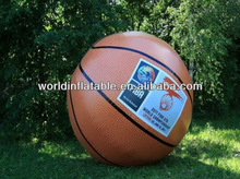 inflatable basketball balloon for NBA, helium basketball balloon