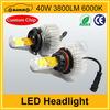 2014 New design 40w 3800LM car led headlight h13