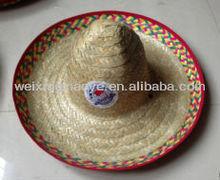 Venta al por mayor de paja mexicano sombreros baratos