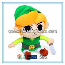 Custom life size plush doll for kids