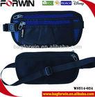 Double pocket waist money belt travel waist bag