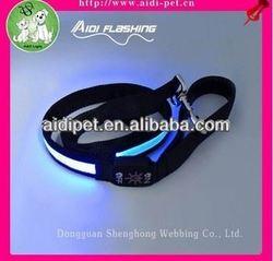 LED luminous dog leash bag