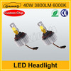 2014 No fans 40w 3800LM motorcycle headlight led