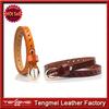 Hot new candy lady patent leather women's leather belt thin belt Korean fashion wholesale