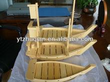 chất lượng cao Nhật Bản 50cm gỗ sushi thuyền từ nhà máy