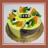 Custom Plastic Cake Model Lifelike Birthday Cake