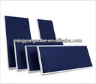 Balcony Type Flat Panel Solar Collector System