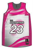 European Deisign Mesh Basketball Jerseys