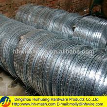 Razor wire installation-(Manufacturer&Exporter)-Huihuang factory