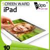 2014 new product for ipad 4 anti glare screen guard film