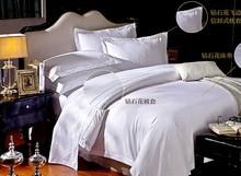luxury 5 star hotel cotton satin bed set duvet cover