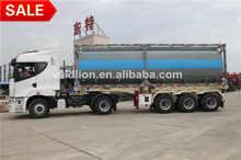Tri-axle Bitumen Tanker Semi Trailer