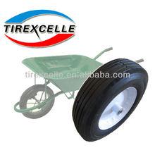 solid rubber garden cart wheel