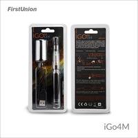 2014 new products e cig lava tube ecig iGo4M 650 mAh/1000 puffs LCD display electronic cigarette wholesale china