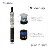 2014 new trendy products mechanical ecig mod iGo4M dual vapor stick electronic cigarette