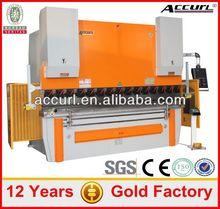 CNC X+Y1+Y2 Axes+Manual R+Z Axes 63T/3200 Hydraulic Sheet Metal Press Brake