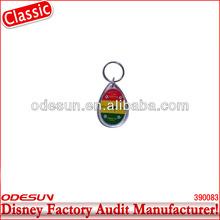 Disney factory audit manufacturer's acrylic keychain 142082