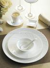 Twill series porcelain bone china dinner set