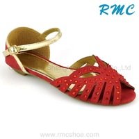 Lady fancy elegant latest sandals for women 2013