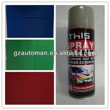 450ml All Purpose Acrylic Latex Spray Paint, Aerosol Spray Paint, Auto Aerosol Spray