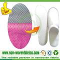 nonwoven materia prima parágrafo fabricar chinelos