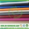 Custom color pp nonwoven interlining fabric