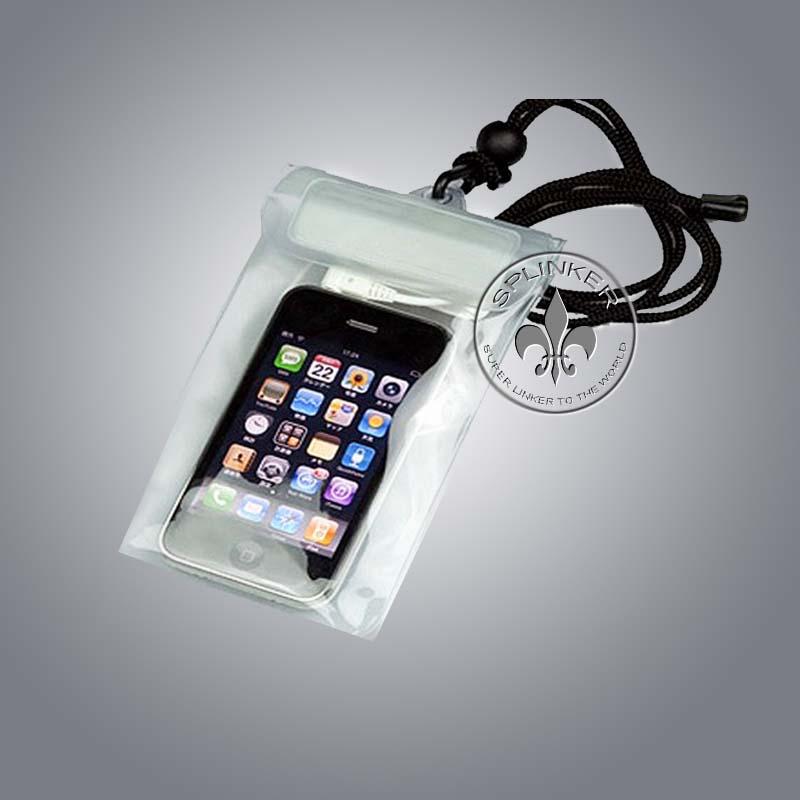 Logotipo personalizado saco impermeável para o iPhone 5S P5509TPU-52
