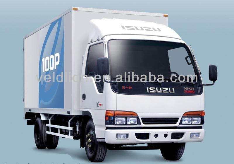 WS Auman 7000L light dump cargo truck van