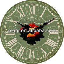 Antique Decorative Billiard Ball Wall Clock