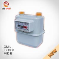 Domestic Household Steel Case Diaphragm Gas Meter G4/G1.6/G2.5