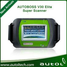 100% Original AUTOBOSS V30 Elite Super Scanner for Asian/American/Euro Cars