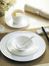 Line design series exclusive fine porcelain restaurant dinnerware sets