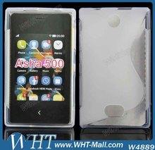 Case For Nokia Asha 500 TPU Case Mobile Phone Cover