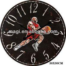 Antique Jordan Basketball Shot Clock Wall Decor