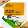 PVC rfid smart em4305 chip card