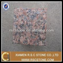 G562 maple red granite paver cobblestone paving stone