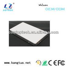 aluminum ssd 1.8 case/ Aotech mini ssd enclosure for 256 GB