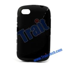Wholesale S Line Flexible TPU Gel Case For Black Berry 9720