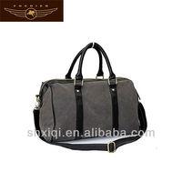 2014 canvas travel shoulder bag for men