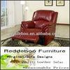 Latest cool design single brown leather armchair JMH001