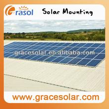 Solar Panel Metal Roof Mounting Kit