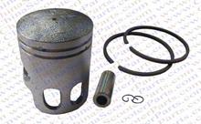 52MM Piston Ring Kit 2 Stroke 100cc Minarelli Jog 1PE52QMG ATV Quad Go Kart Buggy Parts